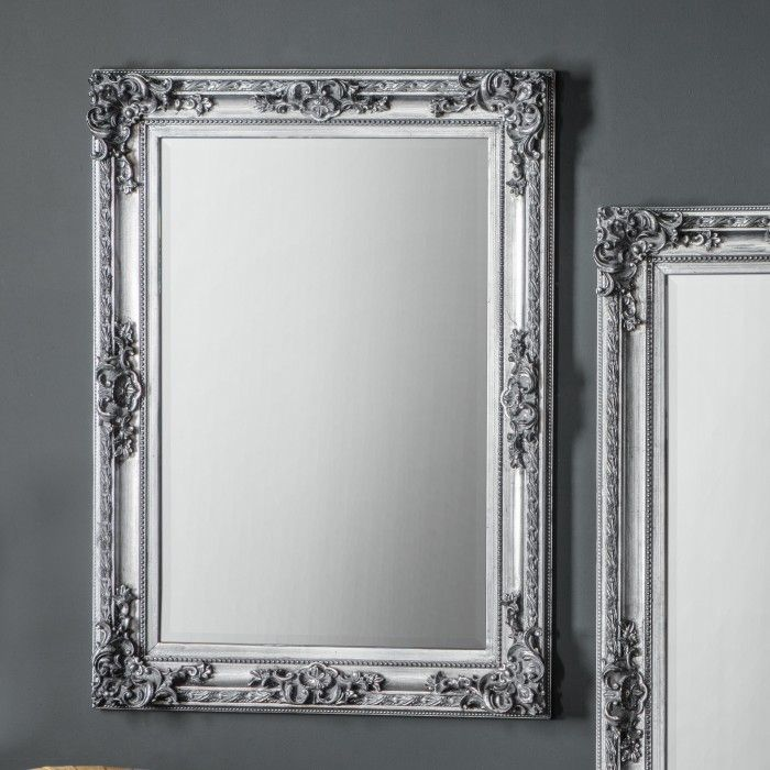 Altori rectangle mirror Silver/White